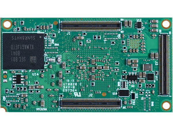 DART-MX8M bottom : NXP i.MX 8M System on a Module