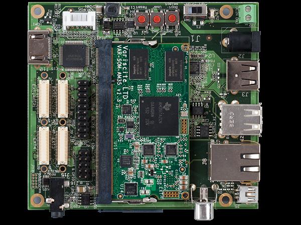 VAR-SOM-AM35 Starter Kit - Texas Instruments AM3517 evaluation kit