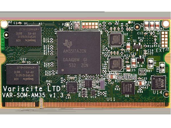 VAR-SOM-AM35 : TI AM3517 AM3505 System on Module (SoM)