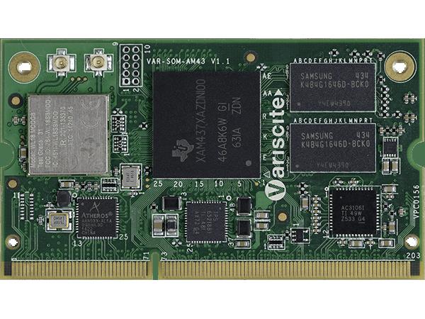 VAR-SOM-AM43 : Texas Instruments AM437x System on Module (SoM)