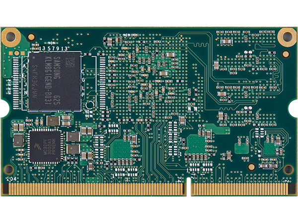VAR-SOM-MX7 bottom with eMMC : NXP iMX7 System on a Module