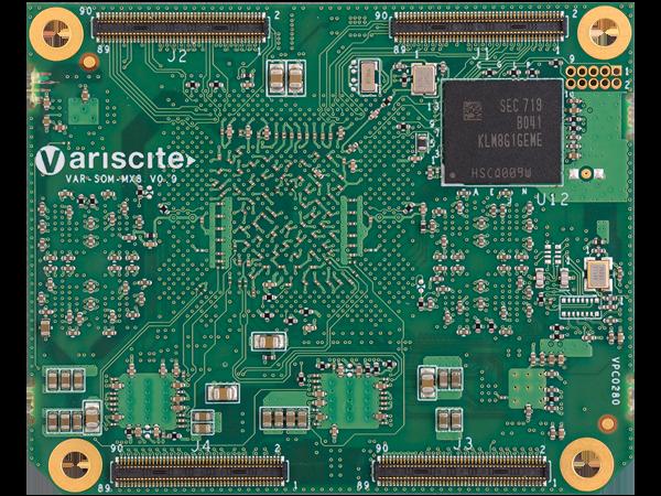SPEAR-MX8 bottom : NXP i.MX8 System on a Module