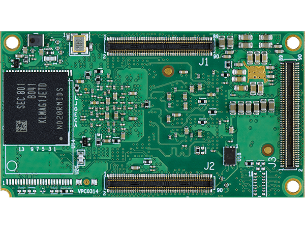 DART-MX8M-MINI bottom : NXP i.MX8M Mini System on a Module