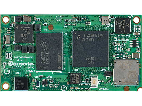 DART-MX8M-MINI : NXP i.MX 8M Mini System on Module (SoM)