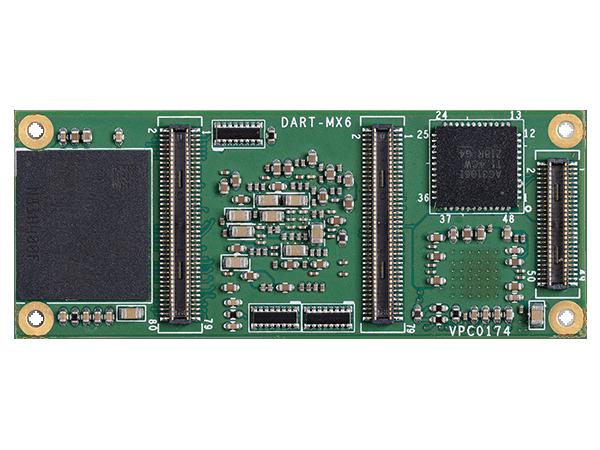 DART-MX6 bottom : NXP i.MX6 System on a Module