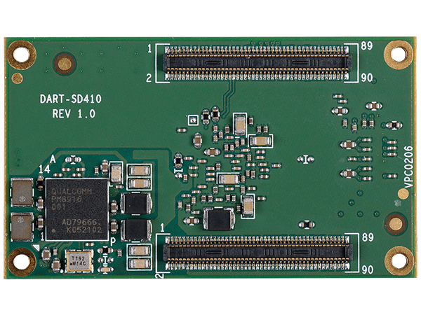 DART-SD410 bottom : Qualcomm Snapdragon 410 System on a Module