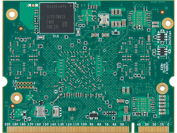 VAR-SOM-MX8 bottom : NXP i.MX8 System on a Module