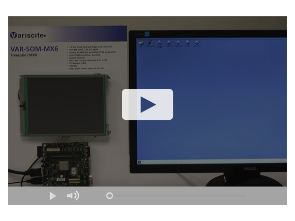 VAR-SOM-MX6 , $52 Freescale i.MX6 SOM - Featuring Dual 1080p decoding