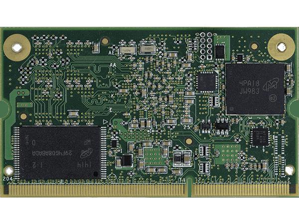 VAR-SOM-AM43 bottom : Texas Instruments AM437x System on a Module