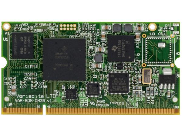 VAR-SOM-OM35 : TI OMAP3530 / OMAP3503 System on Module (SoM)