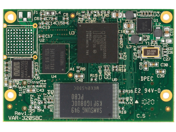 VAR-SOM-PX30 : Marvell PXA300 System on Module (SoM)