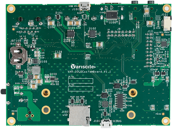 VAR-SOM-SOLO/DUAL bottom ARM Single Board Computer