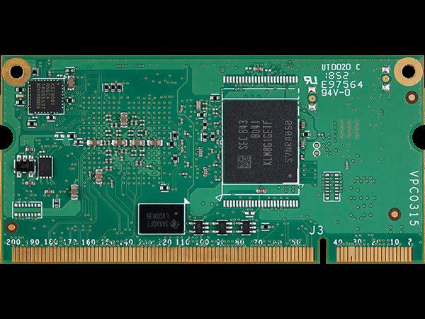 VAR-SOM-6UL bottom : NXP i.mx6 UltraLite System on a Module