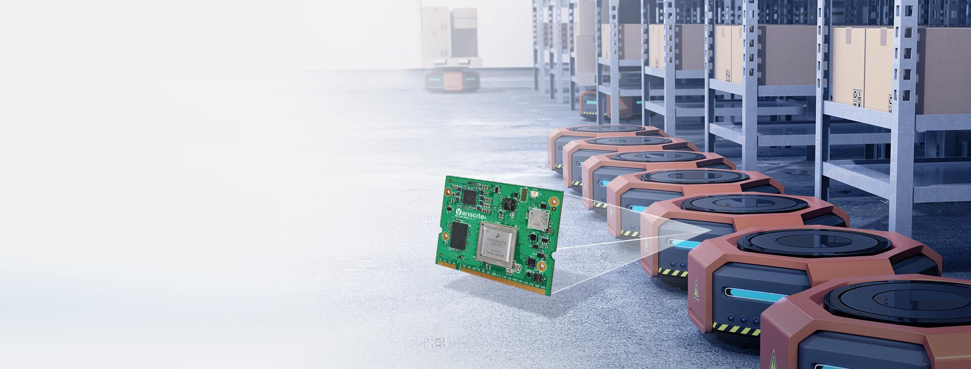 VAR-SOM-MX8X System on Module robots