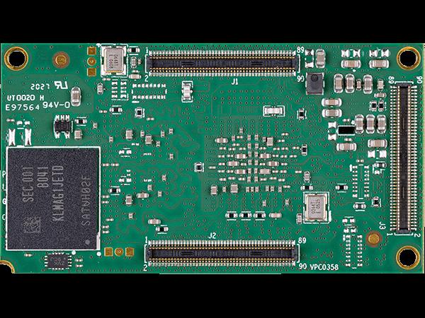 DART-MX8M-PLUS bottom : NXP i.MX8M Plus System on a Module